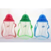US BABY Active Straw Bottle 410ml