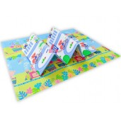 Yofi Folding Mat TK-401 L 200x160x1cm Cho Cho Train + Track