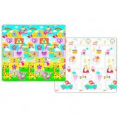 Yofi Mat TK-505 M 150x180x1,5cm Numeric Fun Road Map